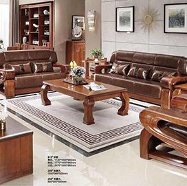 胡桃木套装家具