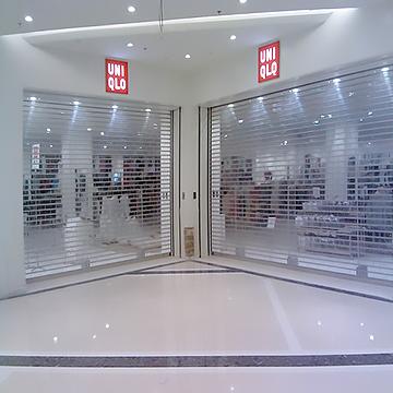 服装店水晶门案例